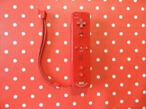 original Nintendo Wii Controller Remote Mote Motion Plus Inside Rot #2