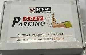 KIT 2 SENSORI PARCHEGGIO PER PORTA TARGA GEN-ART CON CENTRALINA E CICALINO