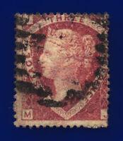 1870 SG51 1½d Rose-Red Plate 3 G6(1) MJ Misperf Fair Used Cat £75 cvpn