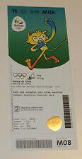 Rio 2016 Mint Ticket 16.8.2016 Olympic Games Rio Athletics # O08 Sports Memorabilia