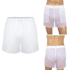 Men's Summer Swim Shorts Swimwear Swimming Trunks Quick Dry Boxer Briefs Pants