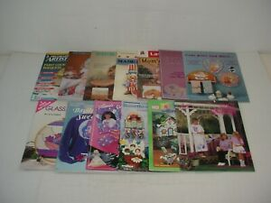 Lot of 13 Assorted Craft Books Magazines 1989 to 1999