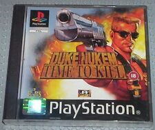 PS1: Duke Nukem, Time To Kill (18+) - 5026555190862