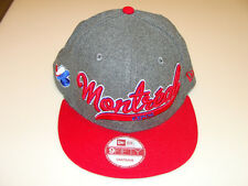 New Era Montreal Expos Scripter Snapback Cap Hat MLB Baseball Adjustable OSFM