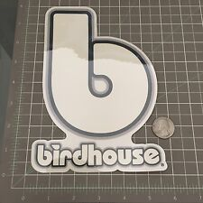 Vintage Birdhouse Skateboard Stickers Toy Logo Grey X-Large 8 inch