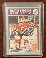 1991-92 Martin Broduer Score Biligual NHL Prospect Card - MT