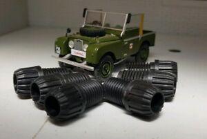 Ferguson TE20 Tractor Petrol Lucas Type Acorn HT Plug Lead Cable Screw Caps x6