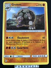 Carte Pokemon GROLEM 35/68 Rare Soleil et Lune 11.5 SL11,5 FR NEUF