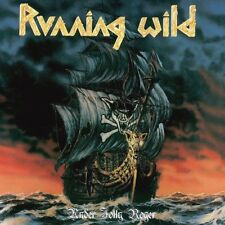 Running Wild Under Jolly Roger Vinyl LP Cover Sticker or Magnet