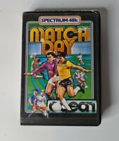 Sinclair ZX Spectrum 48K Game - MATCH DAY - Ocean -Tested & Working - CLASSIC!!