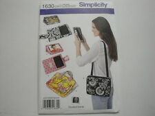 Simplicity Pattern #1630-Cover for E-Book Readers & Carry Case w/Handle 4 Tablet