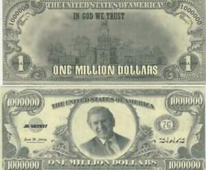 Fantasie Biljet billet - George Bush / dollar 1.000.000 (A115)