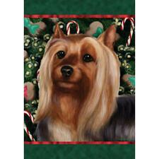 Silky Terrier Holiday Treats Flag