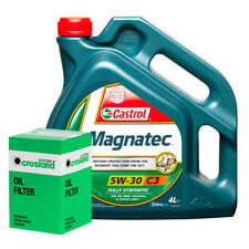 Castrol Magnatec 5W30 - C3 Spec Engine Oil 4L and Oil Filter Service Kit
