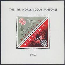 Nigeria 1963 Scout Boy Scout, mi.136-137: bl.1 mnh