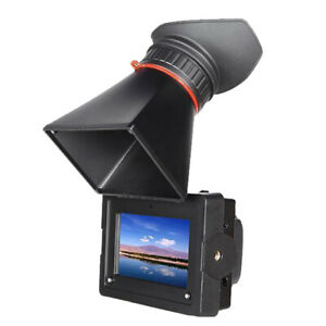 3.5''  HD Electronic ViewFinder  TFT LCD Screen EVF +F770 Bttery For BMCC 5D2 D4