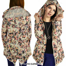 Women's Outdoor Floral Trench Coats, Macs Coats & Jackets