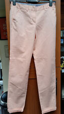 "Womens Papaya Cotton Blend Trousers in Size UK 10 (Measures W30"" x L30"")"
