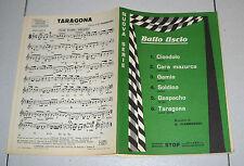Spartiti BALLO LISCIO Fiammenghi Stop 1980 Songbook Orchestra Fisarmonica