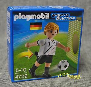Playmobil 4729 Fußballspieler Deutschland Fußball Sports & Action Neu