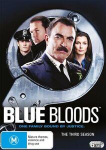 Blue Bloods The Third Season 3 Series Three DVD Region 4 NEW+SEALED