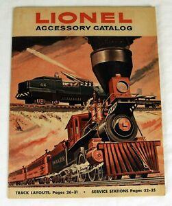 Original Lionel 1959 Accessory Catalog