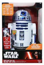 """Star Wars R2-D2 Deluxe Electronic 18"""" Talking Figure"""