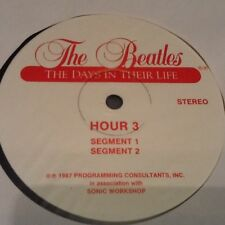 """THE BEATLES """" Days in their lives """"VINYL 30 hour set 1981 Radio show with POSTER"""