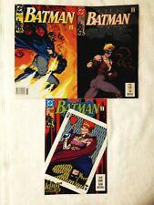 BATMAN LOT #472,479,484, VF+8.5, PAGAN, BLACK MASK, DC 1991, COMBINED SHIPPING!