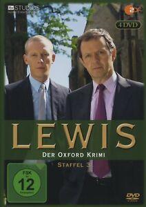 Kevin Whately - Lewis - Der Oxford Krimi. Staffel.3, 4 DVDs