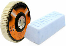 Set für Winkelschleifer mit Polierpaste 125mm (weich)