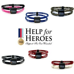 Trion:Z Polarized Magnetic Bracelet Help For Heroes Pain Stress Stiffness Relief