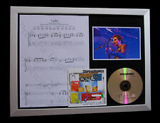 STEREOPHONICS Traffic LTD MUSIC CD TOP QUALITY FRAMED DISPLAY+FAST GLOBAL SHIP