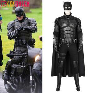 The Batman 2021 Movie Bruce Wayne Robert Pattinson Cosplay Costume Full Set lot