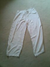 Women's Trousers, Light Weight Cream Trousers, Size Large, Unworn Condition