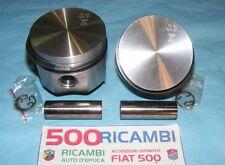 FIAT 500 F/L/R 126 COPPIA 2 PISTONI Ø 77 MOTORE 650cc COMPLETI FASCE + SPINOTTI