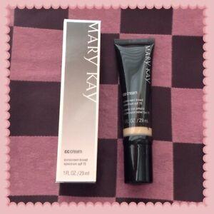New In Box Mary Kay CC Cream Sunscreen Broad Spectrum SPF 15 Deep