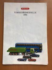 Wiking  Katalog 1994 Gesamtkatalog Modellauto Feuerwehr PKW Transporter Roskopf
