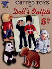 Home Notes #198 c.1935 Vintage Knitting Patterns for Toys and Dolls' Outfits
