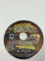 Sony PlayStation 3 PS3 Disc Only Tested Borderlands: Game of the Year Ships Fast