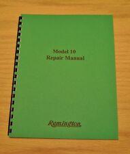 Remington Model 10 Field Service Manual - Repair - #79