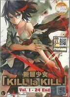 KILL LA KILL - COMPLETE ANIME TV SERIES DVD BOX SET (1-24 EPS)
