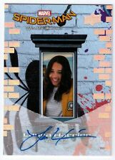 2017 Laura Harrier UD Marvel Spider-Man Homecoming As Liz Autograph Card Auto AU
