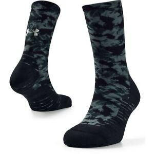 Under Armour Run Cushion Crew Socks  Lichen Blue / Black Small (1-4)