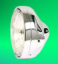 Clear Glass Headlight H4 CHROME KAWASAKI GPZ Z 400 500 550 650 750 900 1000 1100