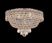 "Palace Empire 16"" Crystal Chandelier Flush Mount Light C Precio Mayorista"