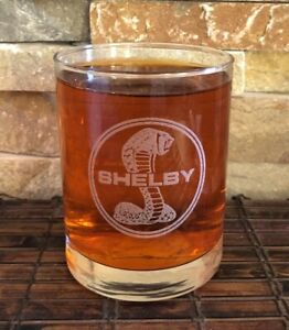 SHELBY - Collectible Whiskey Glass 8 Oz