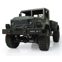 RC 4WD 1:16 Scale Rock  Crawler Off-Road Military Truck Car Toy+ Remote Control