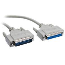 H04 150cm 25Pin DB25 Parallel Drucker Kabel Männlich zu Weiblich Verlängerung