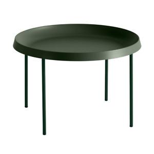 HAY Tulou Beistelltisch Couchtisch Tisch Beistelltisch matt grün H 35cm Ø 55cm